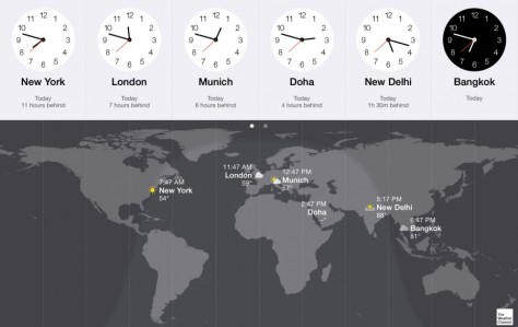 Time Difference Between New York.and Bangkok