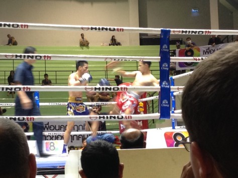 Muay Thai Fighting at Lumpini Stadium
